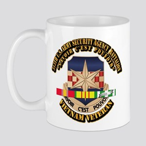 313th USA SAB w SVC Ribbon Mug