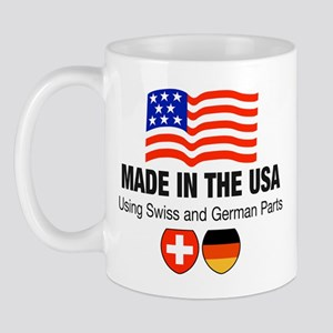Swiss German Parts Mug