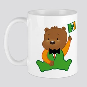Irish Pride Teddy Bear Mug