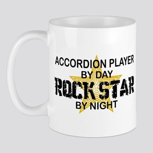 Accordion Rock Star by Night Mug