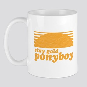 """Stay Gold Ponyboy"" [The Outs Mug"