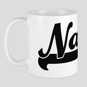 Nash Classic Retro Name Design Mug