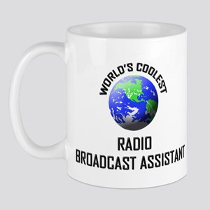 World's Coolest RADIO BROADCAST ASSISTANT Mug