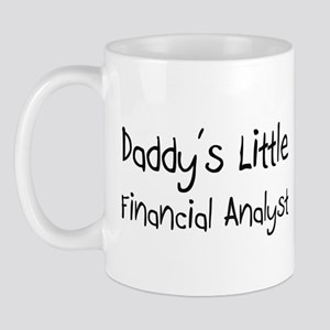 Daddy's Little Financial Analyst Mug