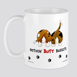 Nothin' Butt Bassets Mug