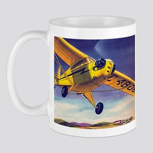 Piper Cub In Flight Mug