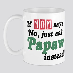 Just Ask Papaw! Mug