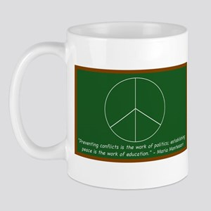 Montessori Peace Quote Mug