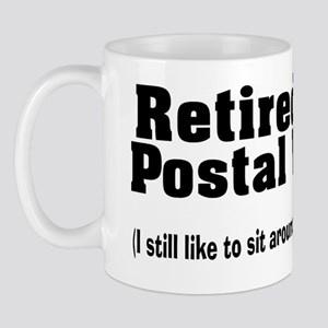 Retired Postal worker talk about mail Mug