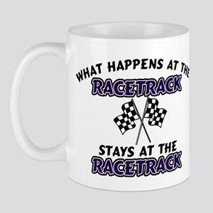 What Happens At The Race Trac Mug