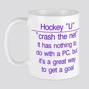 """Crash the net"" Mug"