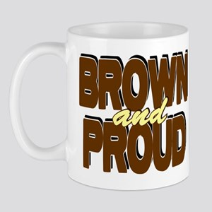 Brown and Proud Mug