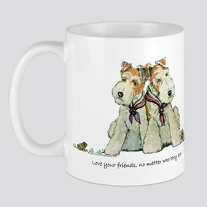 Fox Terriers and Friends Mug
