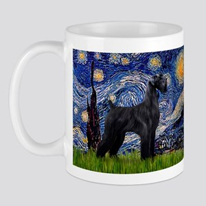Starry Night Schnauzer Mug