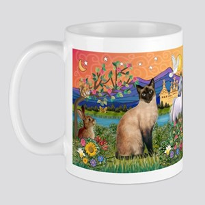 Siamese (1) in Fantasy Land Mug
