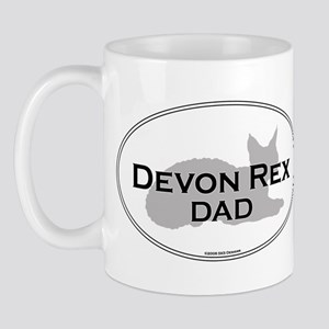Devon Rex Dad Mug
