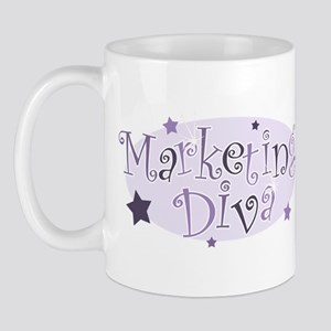"""Marketing Diva"" [purple] Mug"