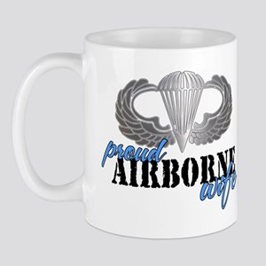 Proud Airborne Wife Mug