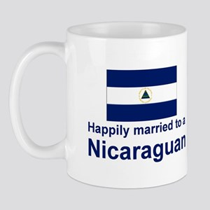 Happily Married To A Nicaraguan Mug