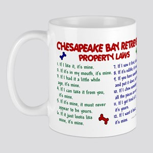 Chesapeake Bay Retriever Property Laws 2 Mug