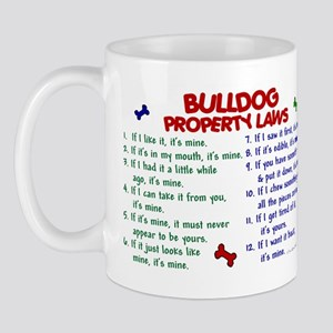 Bulldog Property Laws 2 Mug