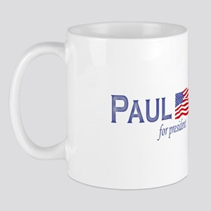 Ron Paul for president flag Mug