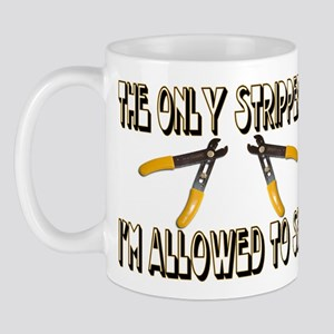 Only Strippers Mug