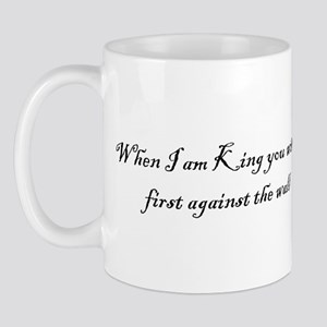 Against The Wall Mugs