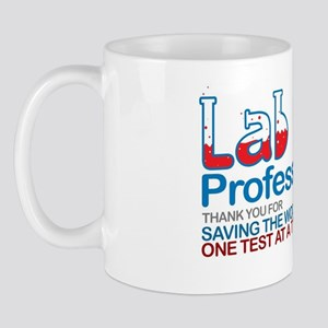 Saving the world one test at a time Mug