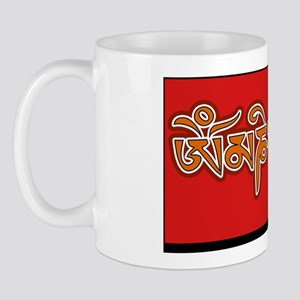 om-mani-padme-hum-rectangle-sticker-ora Mug