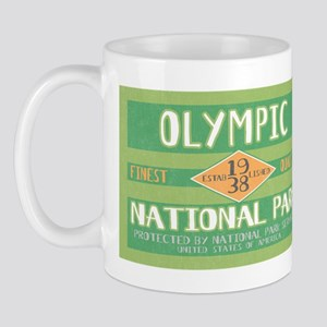 Olympic National Park (Retro) Mug
