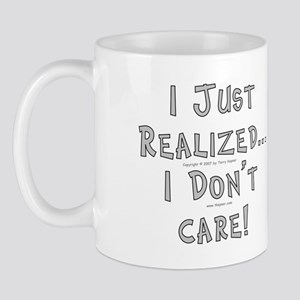 Realized/Don't Care. Mug