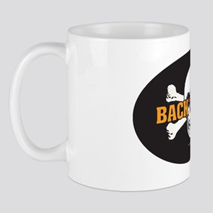 OTG 6 Back Off 2a  Sticker Mug