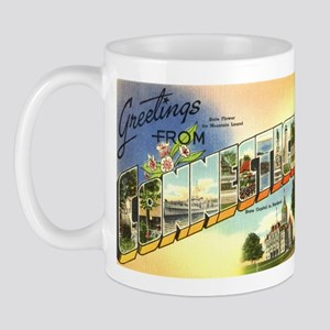 Greetings from Connecticut Mug