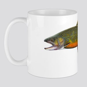 Beaver pond Brook Trout T shirt Mug