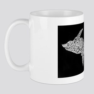 Michigan's Upper Peninsula white-on-bla Mug