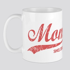 Personalize Mom Since Mug