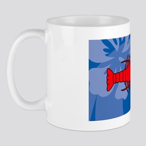 Lobster Oval Hitch Mug