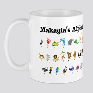 Makayla's Animal Alphabet Mug