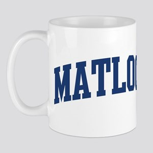 MATLOCK design (blue) Mug