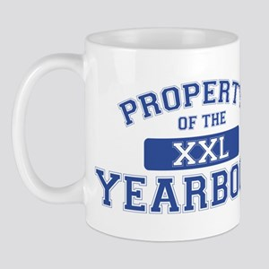 Property Of The Yearbook XXL Mug
