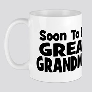 Soon To Be Great Grandma!  Mug