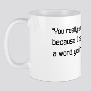 'Willy Wonka Quote' Mug