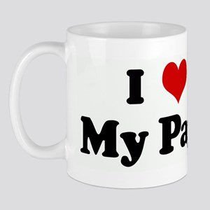 I Love My Papi Mug