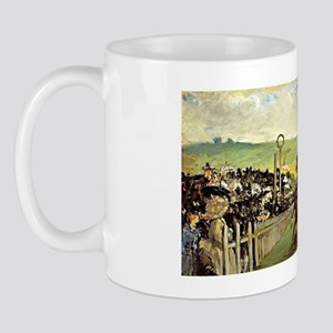 Edouard Manet - Races at Longchamp Mug