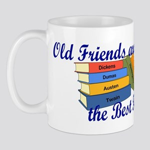 Books Best Friends Mug