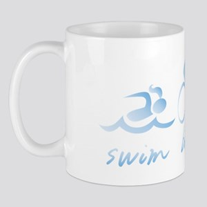Swim Bike Run (Girl) Mug