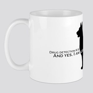 GSDDrugDetectionK9 copy Mug
