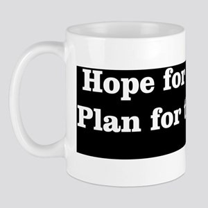 Bumper Sticker Hope White Mug
