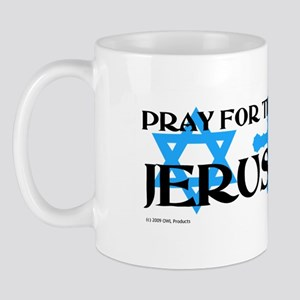 Pray for Jerusalem Mug